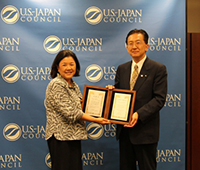Governor Tasso of Iwate Prefecture Visits the United States to Thank Americans