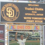 Yudai on scoreboard