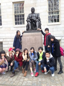 Junior fellows at Harvard tour 2014 2