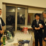 MitsuiReception-saketasting