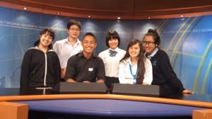 News studio at KUAM
