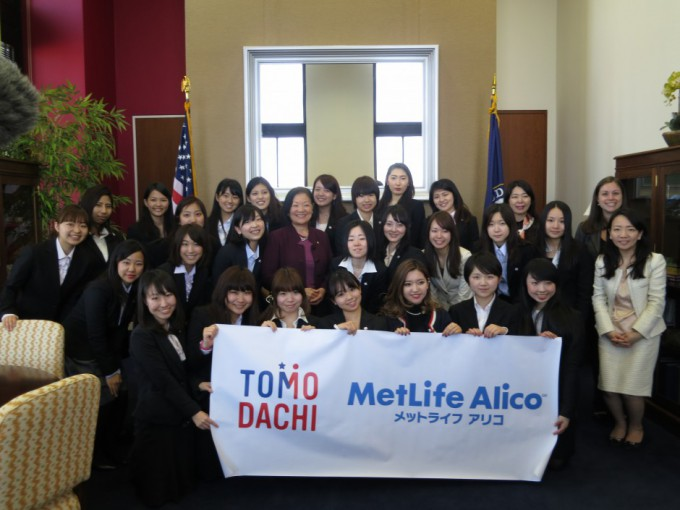 Sen Hirono with TMWLP