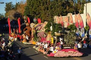 2016 Rose Paradeの様子 メイン