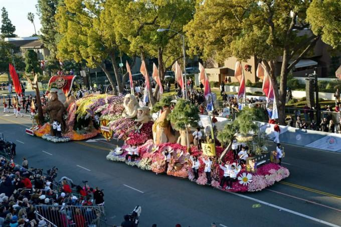 2016 Rose Paradeの様子 DL用