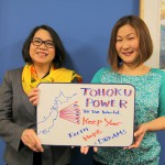 Tess and Sonoko USJC staffs in D.C.
