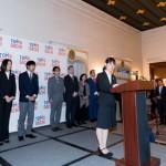 TOMODACHI Initiative Reception_U.S. Ambassador to Japan William F. Hagerty_120717_13