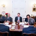 TOMODACHI Initiative Reception_U.S. Ambassador to Japan William F. Hagerty_120717_9